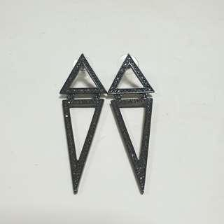 ($3 mailed!!) Lovisa Triangle Statement Earrings