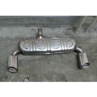 W176 EXHAUST