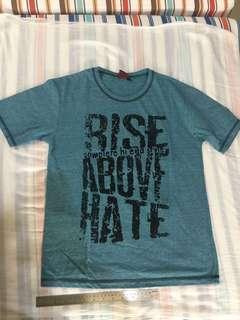 Kaos tshirt blue navy tosca