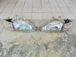 Honda Civic EG6 EG9 SR3 SR4 Headlamp + cornerlamp