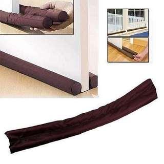 Twin Draft Guard Wind Dust Blocker Sealer Stopper Insulator Door Window