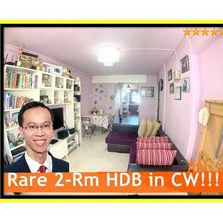 Super Rare Renovated 2-Rm Flat in Commonwealth << 83 Commonwealth Close >>