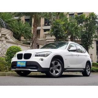 2011年 BMW X1 20D 全景式天窗 柴油有力又省錢 一手女用車庫車 可全額貸 認證好車!!