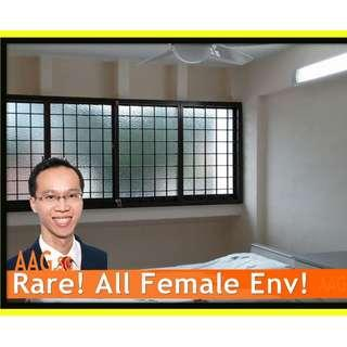 All Female Environment Common Road <<3 Queen's Road. Next to Farrer Road MRT >>