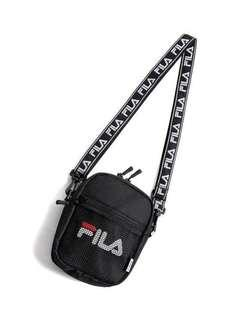 🚚 Black Messenger Small Shoulder Bag Crossbody Sling Bag Fila Inspired