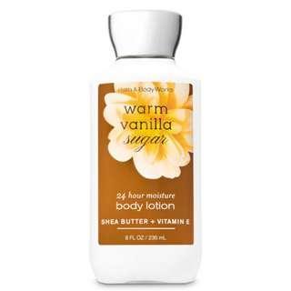 Bath and Body Works Warm Vanilla Sugar Body Lotion 236ml