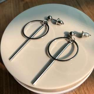 🚚 簡約造型耳環