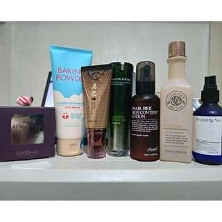 PL and BN Skincare Products