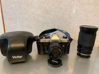 Vivitar V3000N 全手動菲林單反+ 50mm f/1.7 + Clubman 35-200mm f/3.8-5.3