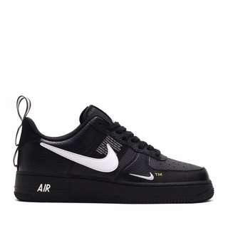 reputable site 6ab12 24c6e Nike Air Force 1 Premium Utility Black