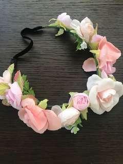 🚚 BN flower crown hair accessory