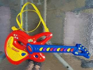 Wiggles my first guitar