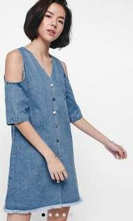 🚚 Love bonito Dreana off shoulder Denim Dress