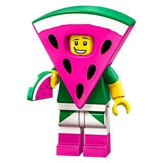 LEGO Minifigures 70123 Lego Movie 2 - Watermelon Suit Guy