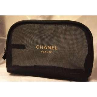 Chanel Mesh Makeup Pouch