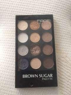 Eyeshadow Face Recipe