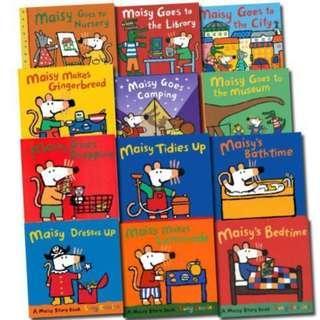 12 Maisy Children StoryBooks