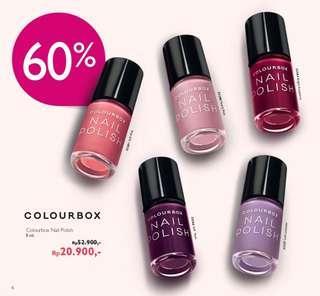 diskon 60% colorbox Nail Polish