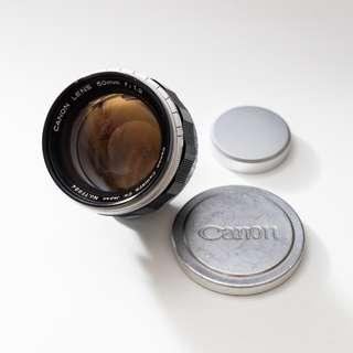Fire Sales! Canon 50mm f1.2 LTM (M mount adapter included) - Legendary Bokeh!
