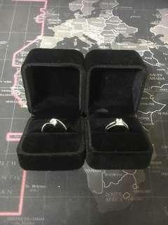 🚚 情侶對戒,可調式指環,不怕size不合