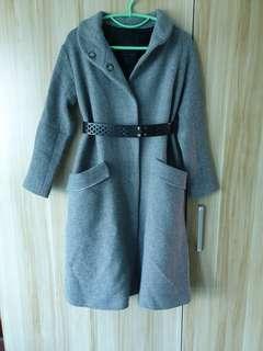Zara Grey long Coat