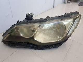 Honda Civic fd headlight