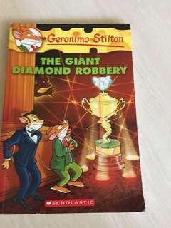 🚚 Geronimo stilton. The Giant Diamond Robbery