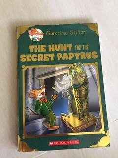🚚 Geronimo Stilton. The Hunt for the secret papyrus