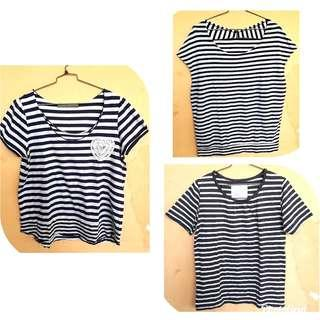 Blouse salur/stripes