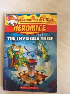 🚚 Geronimo Stilton and the invinsible thief ( Heromice )