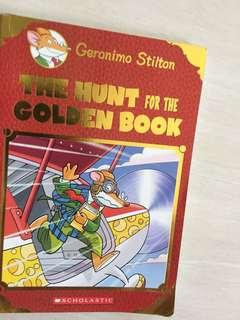 🚚 Geronimo Stilton and the hunt for the golden book