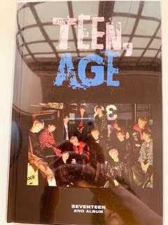 🚚 svt teenage rs ver album