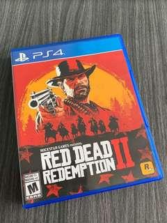 🚚 PS4 Red Dead Redemption 2
