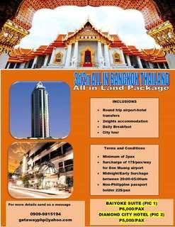 3d2n All in Bangkok Land Package