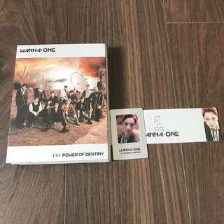 Wanna One Power of Destiny POD Kuanlin Album