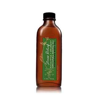 Bath & Body Works Aromatherapy Nourshing Body Oil Stress Relief Eucalyptus Spearmint