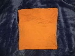 orange tube top