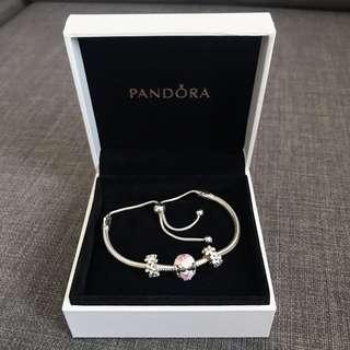 (ORIGINAL) Pandora with Charms & Spacer