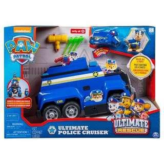 Paw patrol- Chase Ultimate Rescue Cruiser