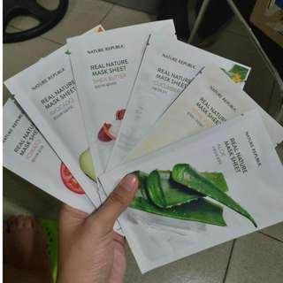 Nature Republic Masks Bundle (2019 version)