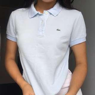 LACOSTE Baby Blue Polo T-Shirt