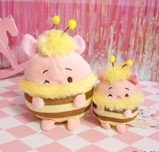 Large Ufufy Honeybee Disney Ufufy Pooh / Piglet ( Price for 1 pc Large)