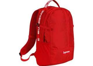 🚚 Supreme ss18 backpack
