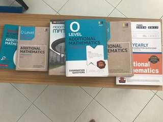 Olevel Additional mathematics books