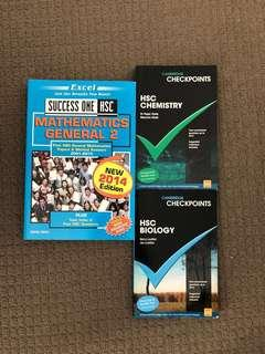 HSC books