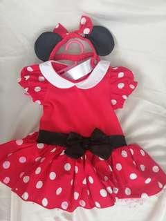 Preloved Minnie Mouse Costume for 3-6m
