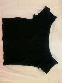 Off shoulder Zara top