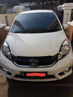 CASH Honda Brio Satya E A/T 2018 Perfect Condition