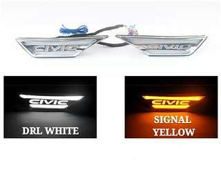 HONDA CIVIC FC LED SIDE LED BUMPER LED FENDER LED