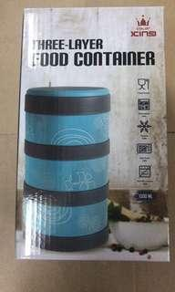 Color King 3 layer food container